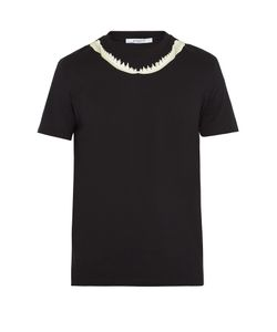 Givenchy | Shark Jaw-Print Cuban-Fit T-Shirt