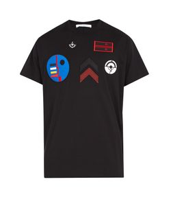 Givenchy | Columbian-Fit Badge-Appliqué Cotton T-Shirt