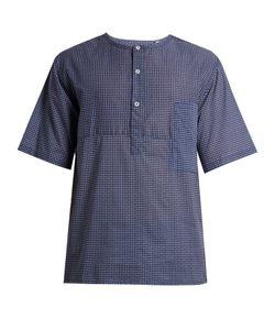 Robinson Les Bains   Dune Geometric-Print Cotton-Batiste T-Shirt