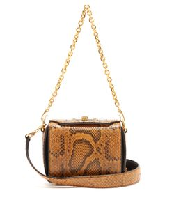 Alexander McQueen | Box 16 Python Shoulder Bag