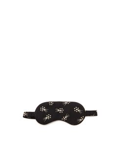 HVN | Comet-Print Silk Eye Mask