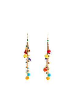 ROSANTICA BY MICHELA PANERO | Cancun And Pompom Earrings