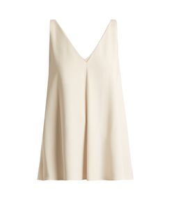 Stella Mccartney | Sutton V-Neck Crepe Top