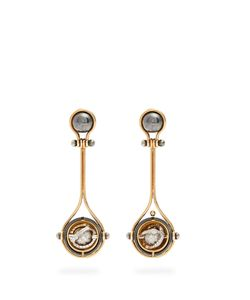 ELIE TOP | Diamond Pluton Earrings