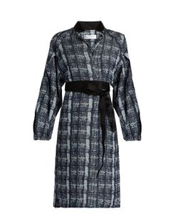 Amanda Wakeley | Tempo Denim-Print Shirtdress