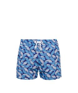 FRESCOBOL CARIOCA | Sports Tauari-Print Swim Shorts