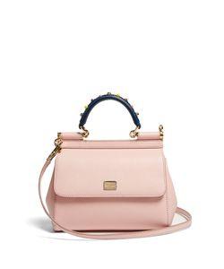 Dolce & Gabbana | Sicily Mini Embellished Leather Bag