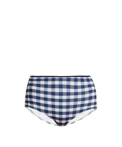 Solid & Striped | The Brigitte Gingham Bikini Briefs