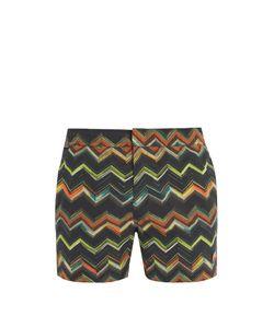 Missoni Mare | Zigzag-Print Swim Shorts