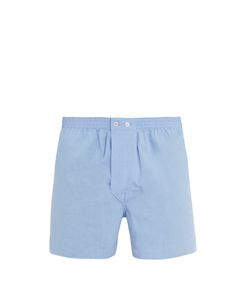 Derek Rose | Braemar Cotton-Poplin Boxer Shorts