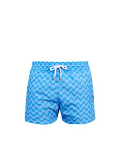 FRESCOBOL CARIOCA | Sports Copacabana-Print Swim Shorts