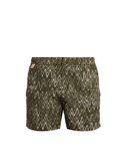 Missoni | Chevron-Print Swim Shorts