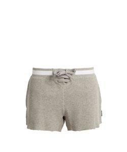 THE UPSIDE   Oxford Cotton Shorts