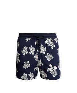 Vilebrequin | Moorea Glow-In-The-Dark Turtles-Print Swim Shorts