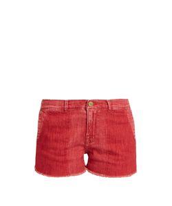 Frame | Le Cutoff Raw-Hem Denim Shorts