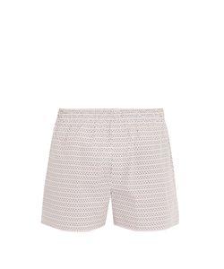Sunspel | Loop-Print Cotton Boxer Shorts