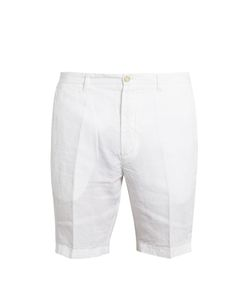 120% Lino | Slim-Fit Linen Shorts