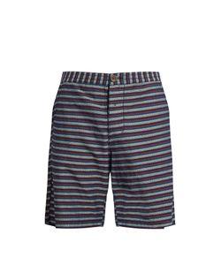 Oliver Spencer | Striped Cotton Shorts