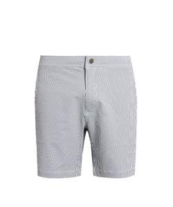 Onia | Calder 7.5 Striped Swim Shorts