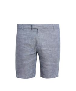 FRESCOBOL CARIOCA | Tailo Linen And Cotton-Blend Shorts