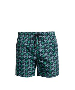 LE SIRENUSE, POSITANO | Mermaid Pinwheel-Print Swim Shorts