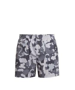NEWLINE | Camouflage-Print Running Shorts