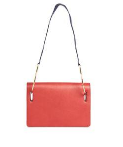ROKSANDA | Ring Wave-Strap Leather Shoulder Bag