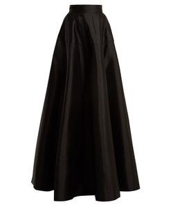 Amanda Wakeley | Atelier Wool-Blend Satin Maxi Skirt