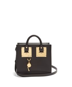 Sophie Hulme | Mini Albion Box Leather Cross-Body Bag