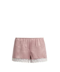 MORPHO + LUNA | Bina Washed-Silk Pyjama Shorts