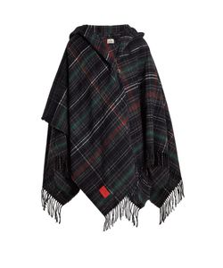 Vivienne Westwood Anglomania | Tassel-Trimmed Checked Poncho