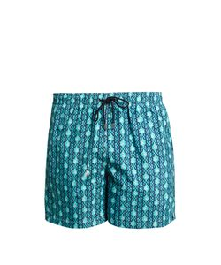 LE SIRENUSE, POSITANO | Dancing Mermaid-Print Swim Shorts