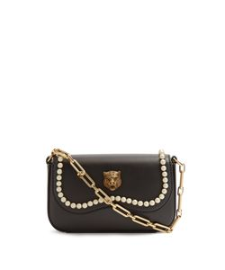 Gucci | Broadway Faux-Pearl Embellished Tiger Bag