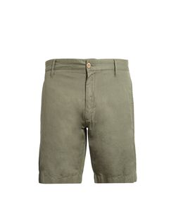 Faherty | Straight-Leg Linen And Cotton-Blend Shorts