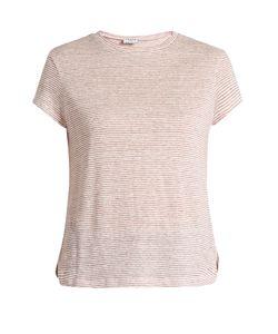 Frame | Striped Linen T-Shirt