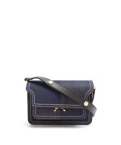 Marni | Trunk Mini Denim Cross-Body Bag