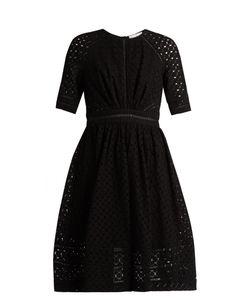 Zimmermann   Roza Embroide Cotton And Silk-Blend Dress
