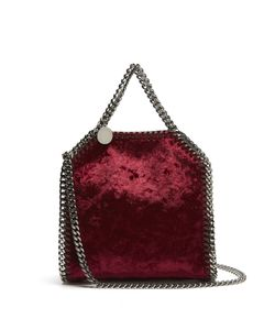 Stella Mccartney | Tiny Falabella Velvet Cross-Body Bag