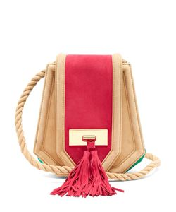 Balmain | Chaska Suede Cross-Body Bag
