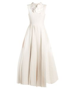 A.W.A.K.E. | True Starfish Sleeveless Pleated Gown