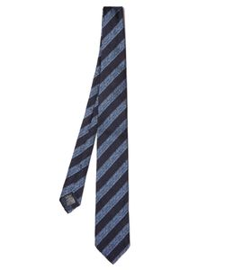Dunhill | Wide-Striped Silk Tie