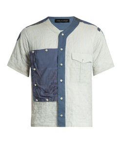 LONGJOURNEY | Scout Striped Short-Sleeved Cotton Shirt