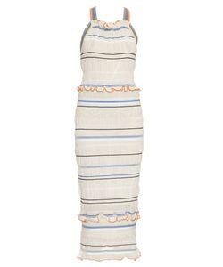 Peter Pilotto | Atmos Smocked Knit Midi Dress