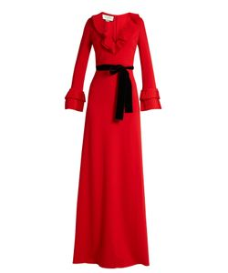 Gucci | Frill-Trimmed Jersey Gown