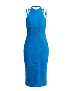 ESTEBAN CORTAZAR | Sleeveless Crochet-Knit Cotton-Blend Dress