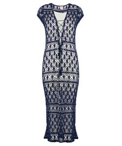 ANNA KOSTUROVA | Aerin Crochet Maxi Dress