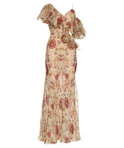 Alexander McQueen | Medieval Print Silk Gown