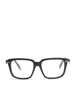 Alexander McQueen | Square-Frame Side-Skull Glasses