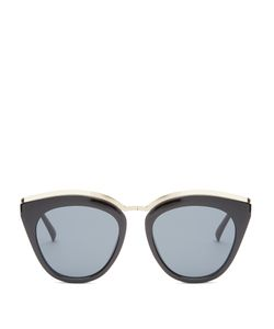 Le Specs | Eye Slay Mirrored Cat-Eye Sunglasses