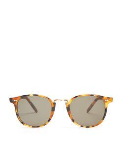 CUTLER & GROSS   1007 Oval-Frame Sunglasses